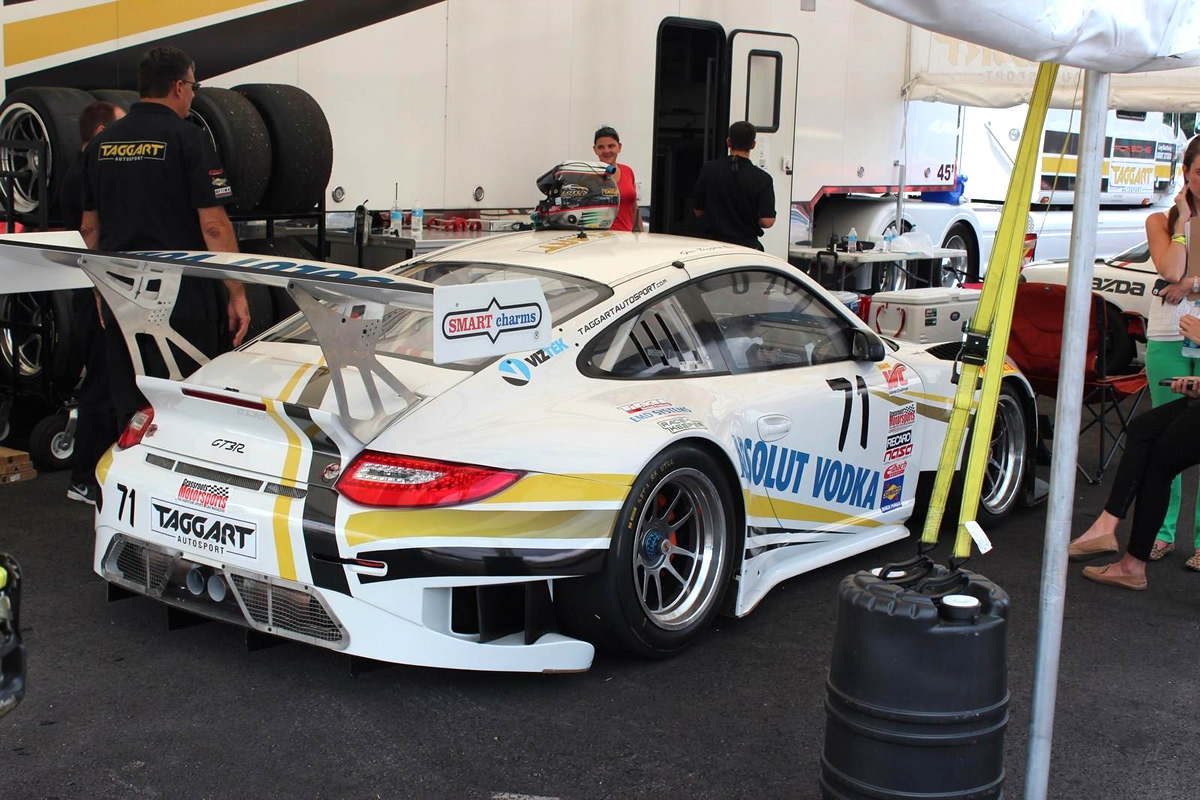 Taggart Back in Action at Mid-Ohio